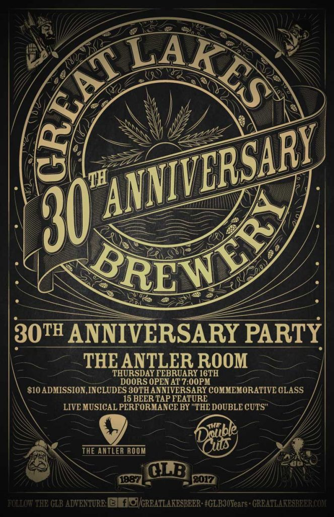 30th anniversary party - POSTER
