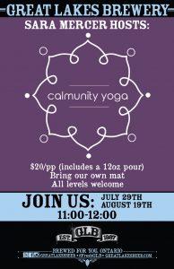 Calmunity - Yoga Poster - 2018
