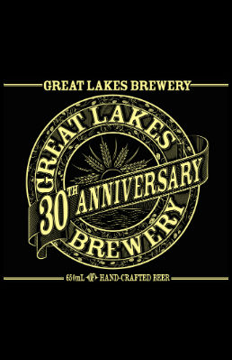 GLB 30 Beer Label