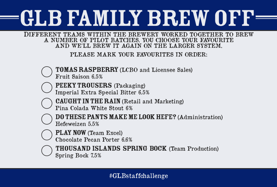 GLB Family Brew Off Ballot - Back - 2018