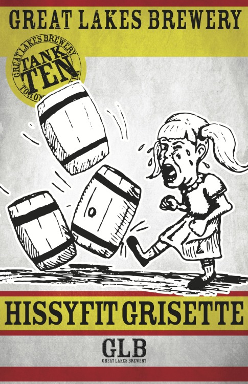 Hissy Fit Grisette