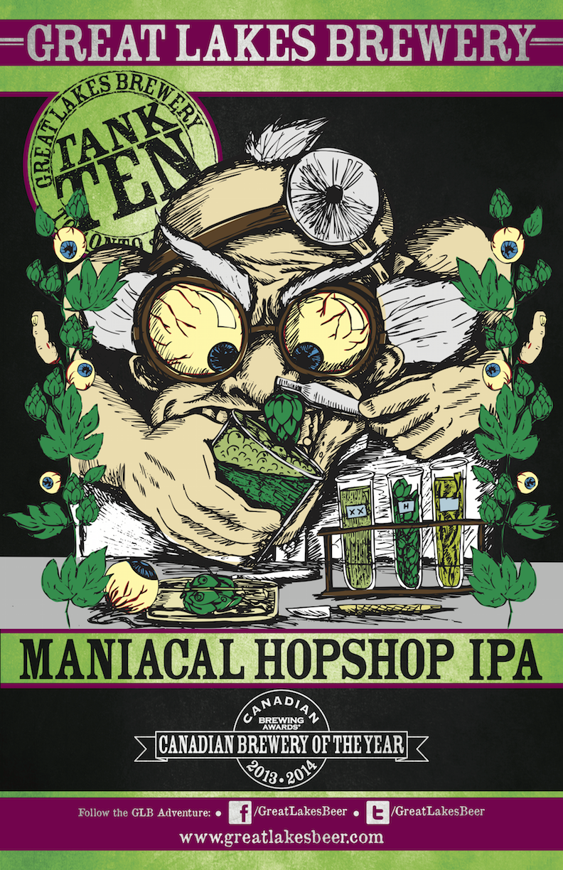 Maniacal Hopshop IPA_poster (hi-res) web