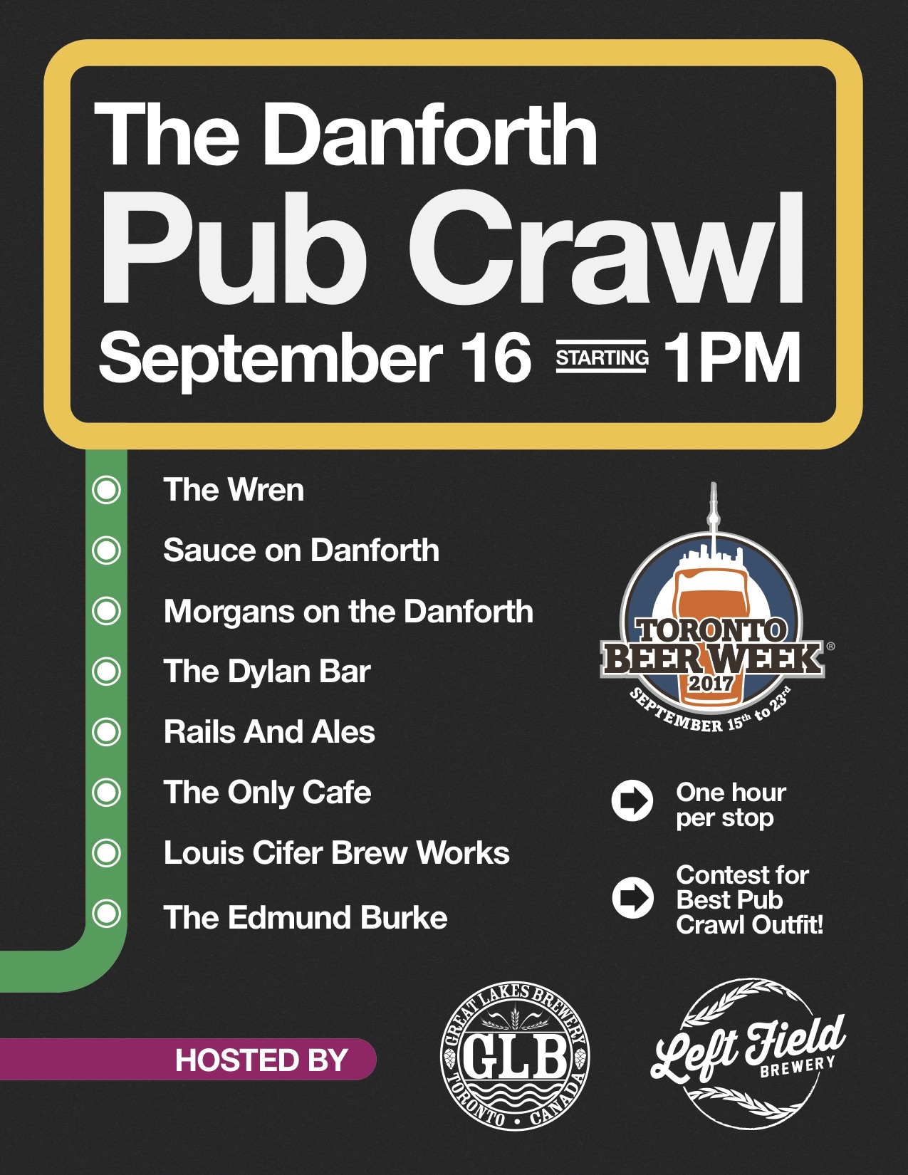 TBW2017_GLB_LF_Danforth Pub Crawl Poster